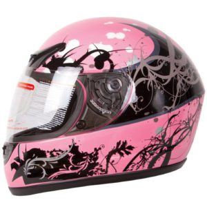 Gloss-Pink-Japanese-Helmet