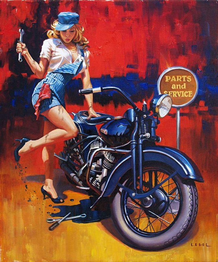 байкер и проститутка