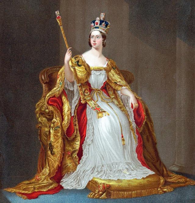 Queen-Victoria-litho-3100gty