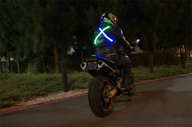 high_visibility_led_motorcycle_belt_blue_and_green